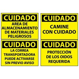 Spanish Caution Signs