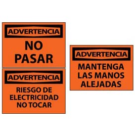 Spanish Warning Signs