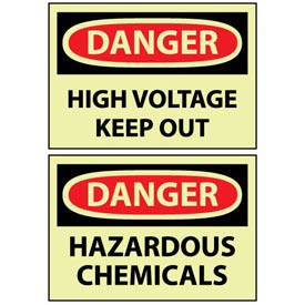 OSHA Safety Glow Signs