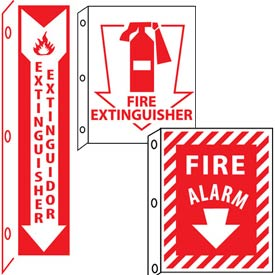 Fire Flange Signs