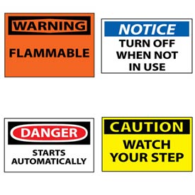 OSHA Machine Labels