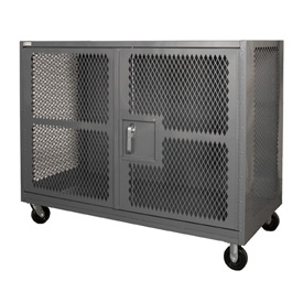 Durham Mfg.® Clearview Mesh Security Trucks