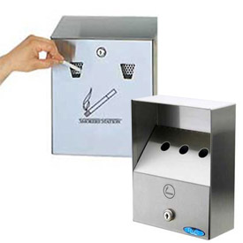 Wall Mount Smoker Stations