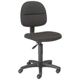 Interion® Armless Fabric Task Chairs