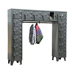 Strong Hold® All Welded Extra Heavy Duty Compartment Lockers