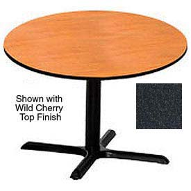 Round 48 Inch Laminate Top Table Graphite