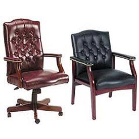 Boss Chair -  Classic Elegance Leather Seating