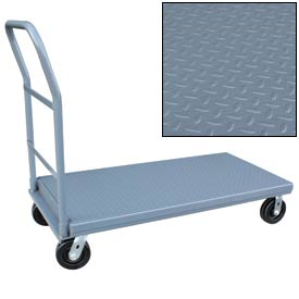Jamco Diamond-Plate Steel Deck Platform Trucks