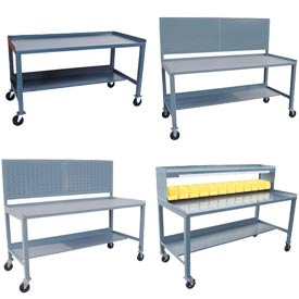 All Welded Mobile Workbenches