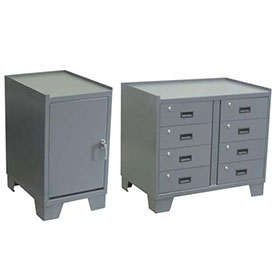 Jamco All-Welded Heavy Duty Cabinets With Work Surface And Sided Lips