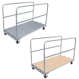 Adjustable Sheet & Panel Mover Trucks with 2 Dividers