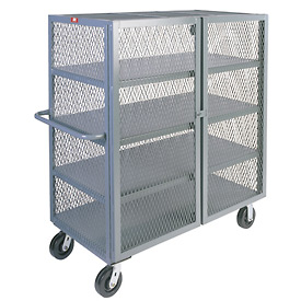 Jamco Clearview Mesh Security Trucks