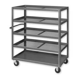 Mesh Shelf Steel Stock Trucks