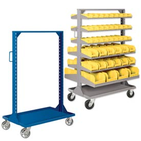 Portable Bin Racks & Panel Carts