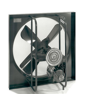 Commercial Duty Belt Drive Wall Exhaust Fans