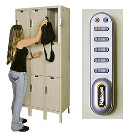 Hallowell® Digitech™ Electronic Access Lockers