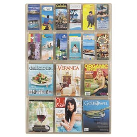 Clear Front Literature Display Racks