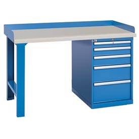 Industrial Pedestal Workbenches