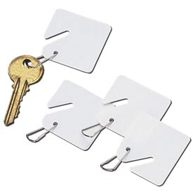 Slotted Key Tags For Key Cabinets
