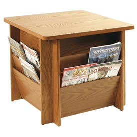 Buddy Products - Literature Rack Table