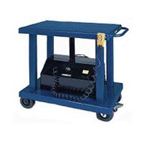 Wesco® Battery Operated Work Positioning Post Lift Table 261101 2000 Lb.