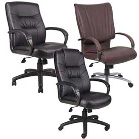 Boss Chair -  Leather Office Seating