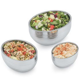 Vollrath® Oval Beehive Bowls