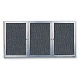 3 Door Enclosed Easy Tack Boards