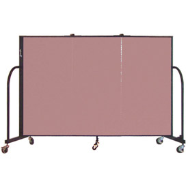 Screenflex® - Fabric Upholstered Mobile Room Dividers - 6 Ft Height