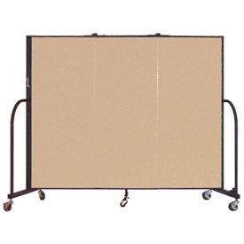 Screenflex® - Vinyl Upholstered Mobile Room Dividers - 5 Ft Height