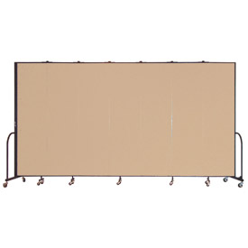 Screenflex® - Vinyl Upholstered Mobile Room Dividers - 7 Ft 4 In Height