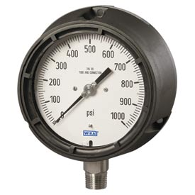 Wika® Factory-Filled Pocan® Process Gauges With Safety Cases