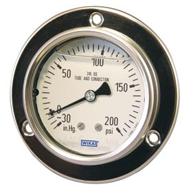 Wika® Stainless Steel Panel Builder Gauges