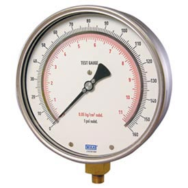 Wika® Stainless Steel High Precision Gauges With Copper Alloy Wetted Parts