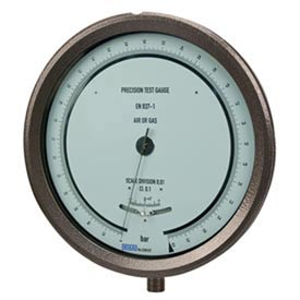 Wika® Aluminum High Precision Gauges With Adjustable Dial To Re-Zero