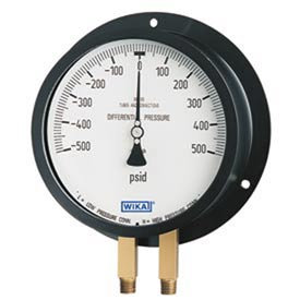 Wika® Dual Bourdon Tube Differential Gauges