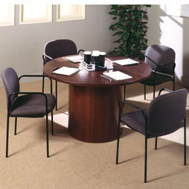 Ironwood -  Round Conference Tables With Bulk Base