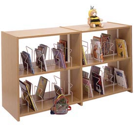 Ironwood -  Glacier™ Single Faced Expandable Picture Book Shelving