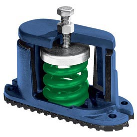 Housed Spring Floor Mount Vibration Isolators