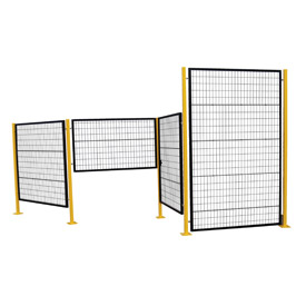 Adjustable Perimeter Guard Partition System