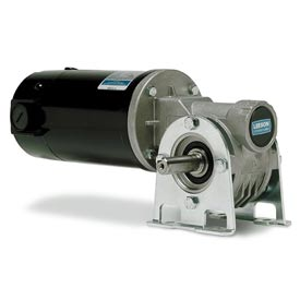Leeson DC Gearmotors, Right-Angle, SCR Rated & Low Voltage(12V)