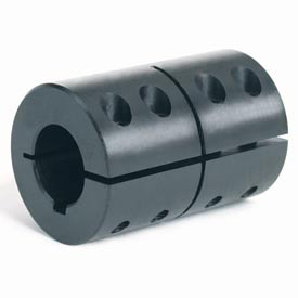 Climax Metal, CC-Series : One-Piece Clamping Coupling with Recessed Screw with or without Keyway