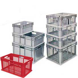 Akro-Mils Straight Wall Pallet Containers - Stackable