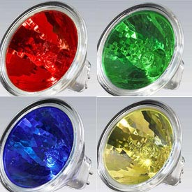 Color Halogen Lamps