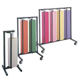 Wall Rack & Horizontal/Vertical Paper Roll Rack Cutters