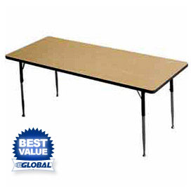 Allied -  Rectangular Activity Tables With Standard & Juvenile Height