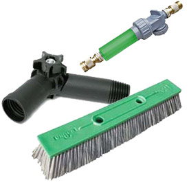 Unger® Waterfed Pole Cleaning System