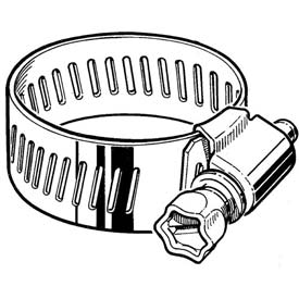Collared Screw Hose Clamps