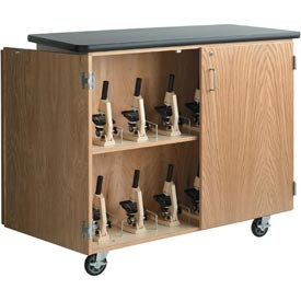 Diversified Woodcrafts -  Microscope Storage Cabinet