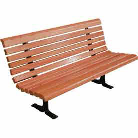 Wood Benches with Back